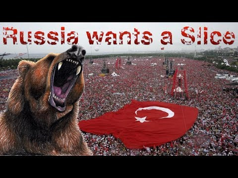 WOW! -Russia is circling the prey, looking to take a slice out of Turkey!!