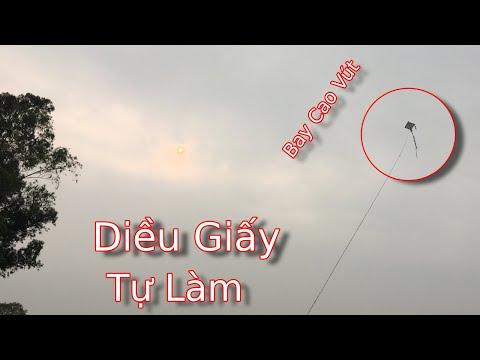 Cách Tự Làm Diều Giấy Mini Bay Cao   Bin TV