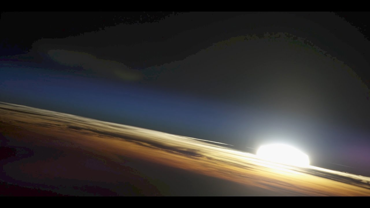 Sunrise From the Space Station...