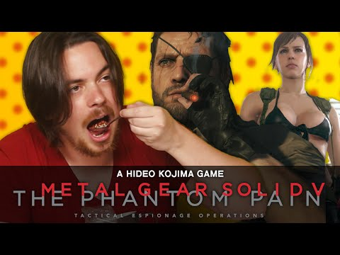 Hot Pepper Game Review - Metal Gear Solid V: The Phantom Pain ft. Egoraptor