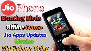 Jio Phone Angry Birds Offline Game 🔥 Hunting Birds Game Download For Jio Phone