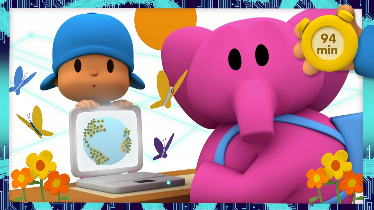 🌍 POCOYO & NINA - Make your voice heard [94 min] ANIMATED CARTOON for Children |FULL episodes