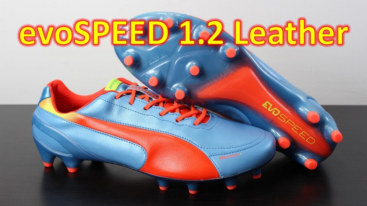 Puma evoSPEED 1.2 Leather Sharks Blue - Unboxing + On Feet - YouTube bddc91bc287d