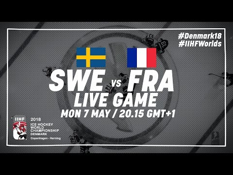Sweden - France | Full Game | 2018 IIHF Ice Hockey World Championship