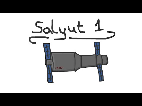 Summary - Salyut 1 - The first ever spacestation!