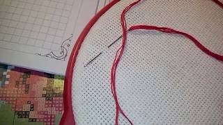 Урок 6Техника вышивки крестом с идеальной изнанкой..Авторский полный курс обучения.