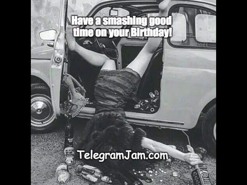 Happy Birthday - A funny Birthday song to send your sister.