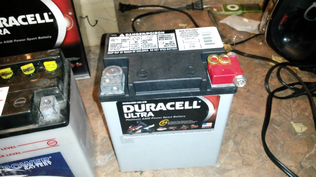 Honda Nighthawk - Duracell Ultra Agm Battery