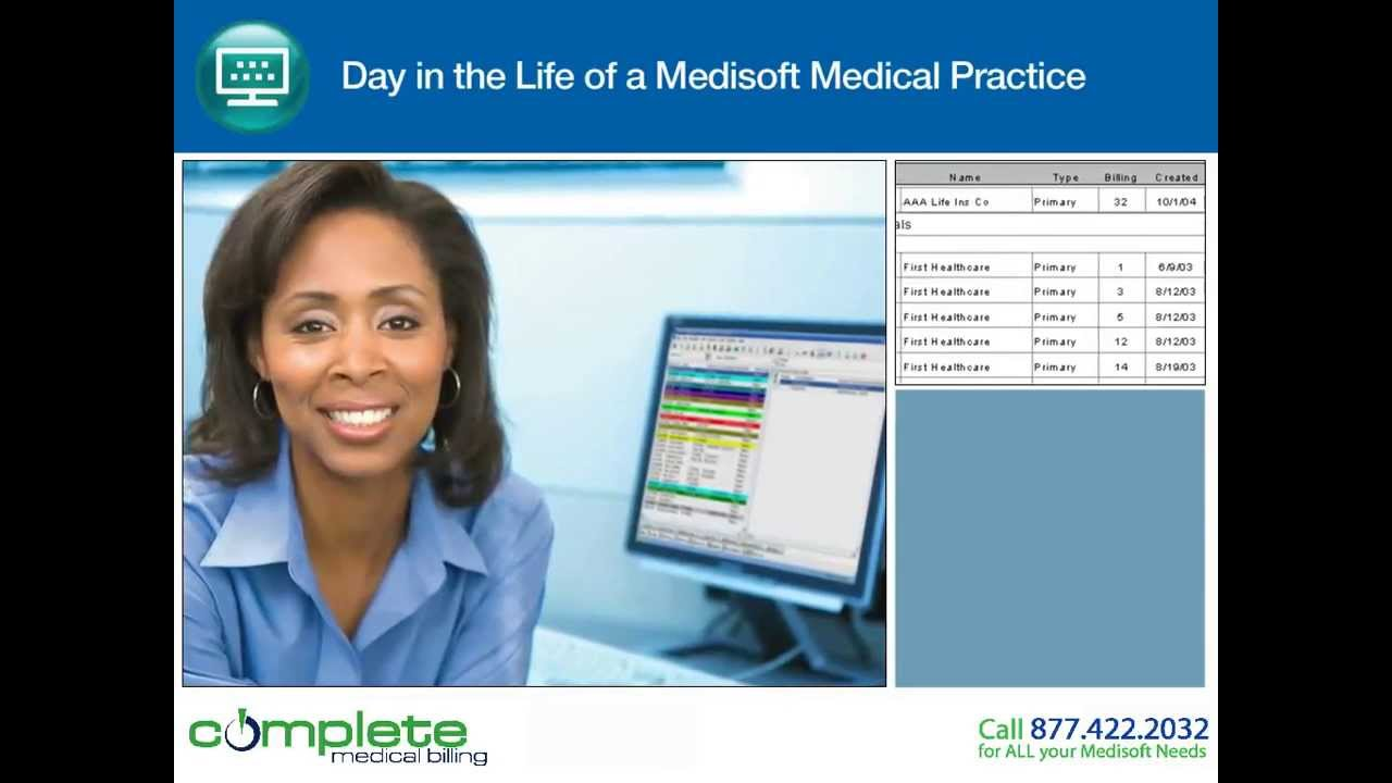 Medisoft Demo- Back Office: Billing, Reports, Statements