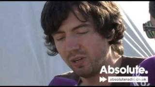Snow Patrol interview at the 2009 V Festival on Absolute Radio