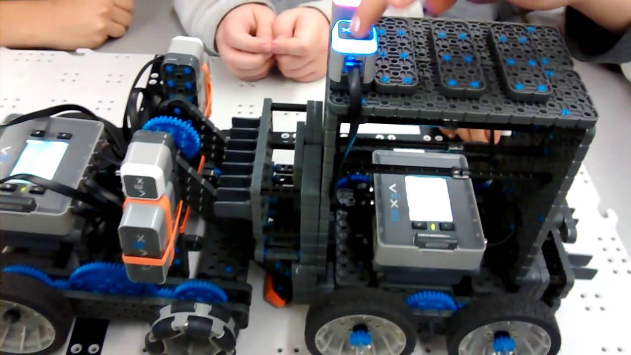 Programming the sumo robots!