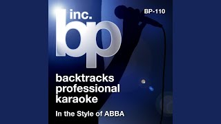 Dance (While The Music Still Goes On) (Karaoke Instrumental Track) (In the Style of ABBA)