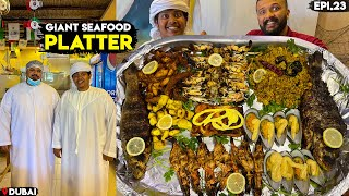Giant Sea Food Platter in Al Qbabh, Dubai - மீன் முட்டை Biriyani - Irfan's View