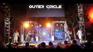 Behind the Scenes - Disneyland Tron City Dance Competition Outer Circle Crew