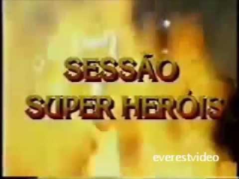 Sessão Super Heróis - Patrocinador Revista Herói Gold - TV Manchete