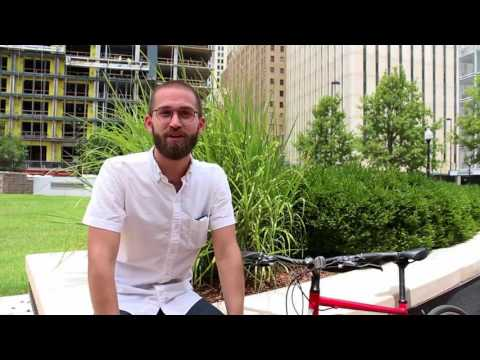 Tulsa Bike Share Executive Director Daniel Sperle