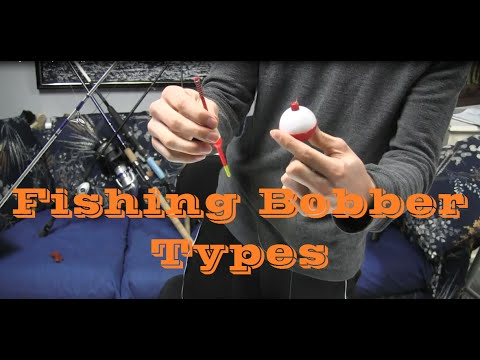 How to setup rig tie a fishing bobber or float quick and for Fishing floats types