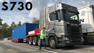 2019 SCANIA S730 8x4 Test Drive & New SCANIA P320 Hybrid Truck!