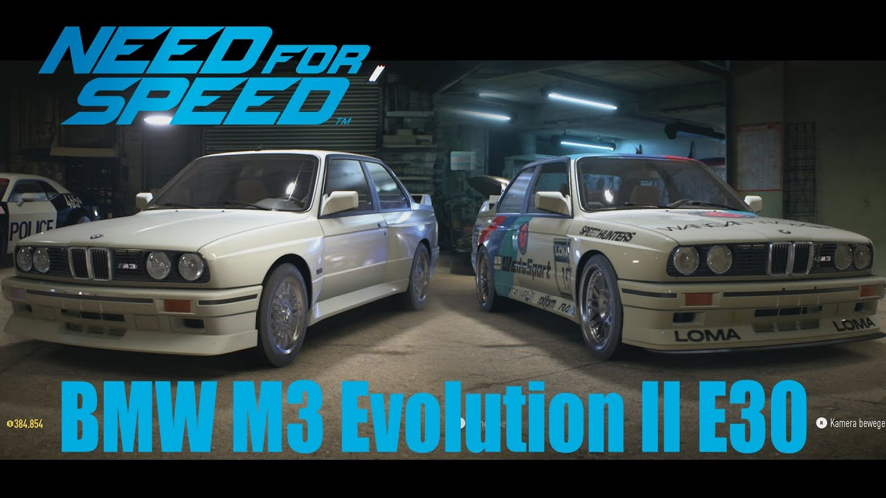 nfs tuning bmw m3 evolution ii e30 7 youtube. Black Bedroom Furniture Sets. Home Design Ideas