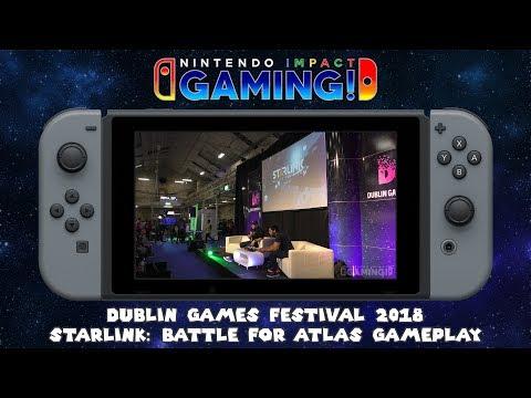 Dublin Games Festival 2018 | Starlink: Battle For Atlas Gameplay