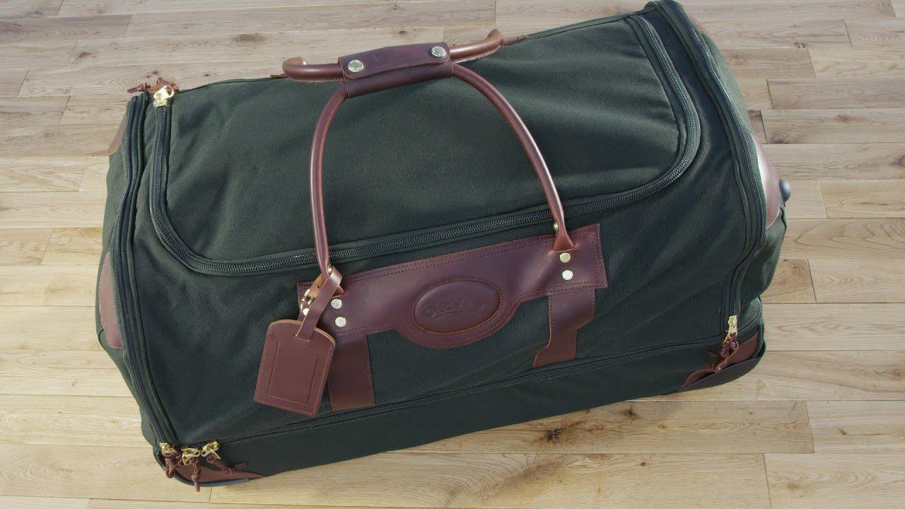 Orvis Battenkill Large Rolling Duffle Bag