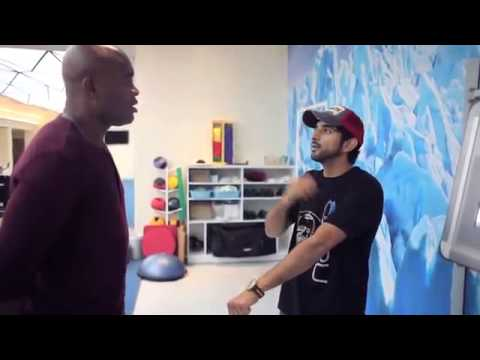 "Anderson Silva ""The Spider"" with Sheikh Hamdan"