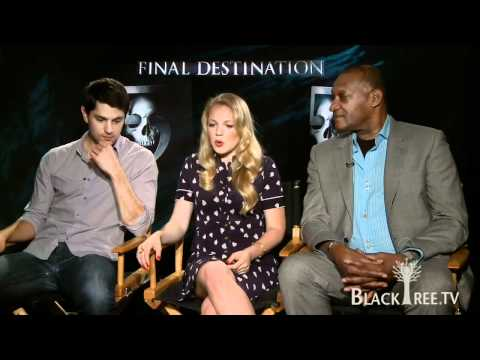 Tony Todd and the cast of 'Final Destination 5' talk blending 3D w/ Acting....