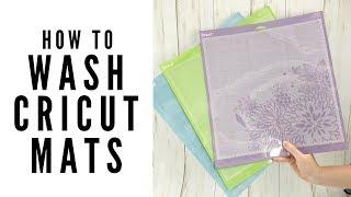 How to Wash Cricut Mats