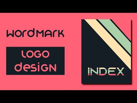 How To Make Word-Mark Logo Design | Adobe Illustrator Tutorial thumbnail