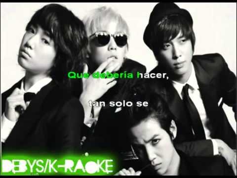 Without Words - Park Shin Hye karaoke español