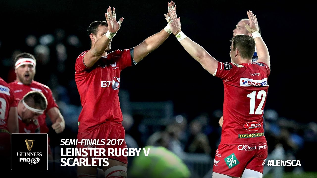 Semi-Final Highlights: Leinster Rugby v Scarlets Rugby | 2016/17 season