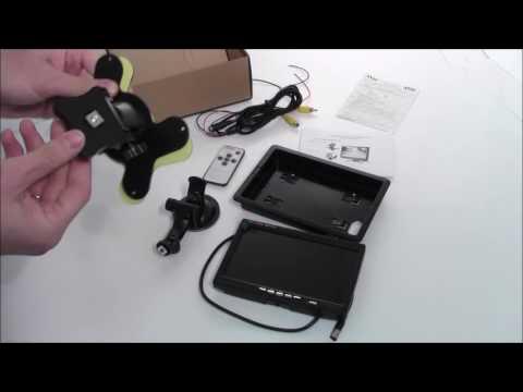 Обзор автомобильного монитора AVS0704BM