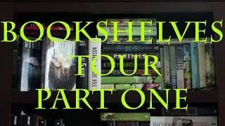 Bookshelves Tour Part One
