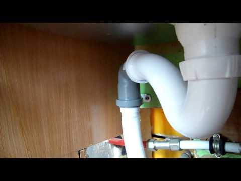 Как удлинить сифон для раковины