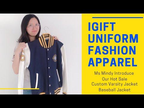 Varsity Jacket Baseball Jacket Custom Made Is Easy And Simple