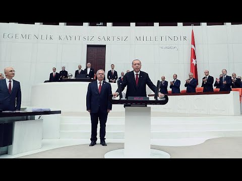Turkey swears in President Erdogan
