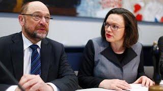 Kaltblütige Süffisanz: Nahles' Abschiedsworte für Schulz