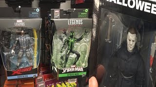 TOY HUNTING AT GAMESTOP FOR NEW MARVEL LEGENDS/NECA FIGURES