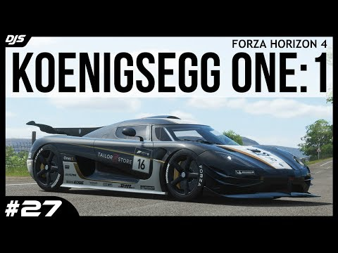 Koenigsegg One:1 (X-Class) - Forza Horizon 4 - Car Collection #27 thumbnail