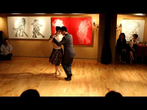 Daniel y Weining at Tanguísimo Tango Space 4th Anniversary