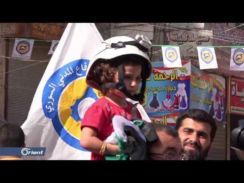 أهالي مدينة الدانا بإدلب يتظاهرون دعماً لمخيم الركبان والخوذ البيضاء  - 17:53-2018 / 10 / 19