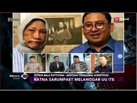 Berbohong dan Menyebarkan Berita HOAX, Ratna Sarumpaet Langgar UU ITE - iNews Sore 03/10