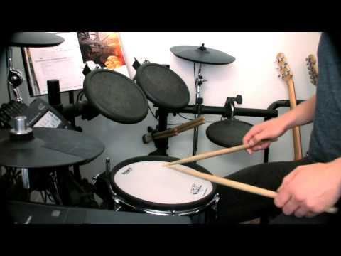 5 Stroke Roll (doubles) - Simple Drum Rudiments