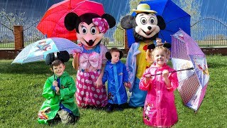 Rain, Rain Go Away Song Nursery Rhymes with Daddy, Mommy,  Childrens and Baby Ronaldo