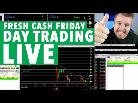 DAY TRADING LIVE FRESH CASH FRIDAY