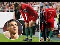 8 Times Cristiano Ronaldo Was Injured & Was Substituted 😰