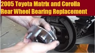 Wheel Bearing Hub Assembly Rear Pair for Vibe Matrix Corolla