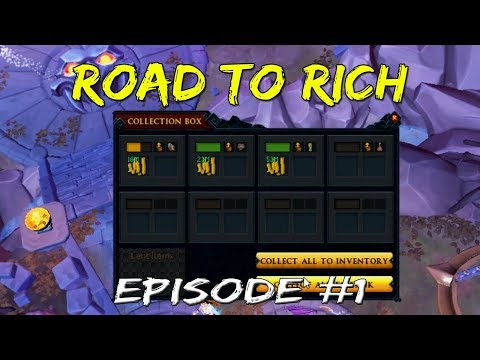 Road to Rich: Episode 1 | Making Money Off Invention! [Runescape 3]