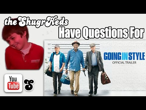 GOING IN STYLE Trailer (2017) Morgan Freeman, Michael Caine Movie & Qs from theShugrHeds HD