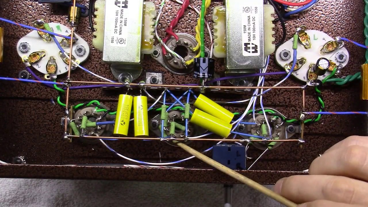 Single Ended Tube Amplifier Build 2017 - Part 15 - Finishing Up the on tube assembly, tube terminals, tube dimensions, tube fuses,
